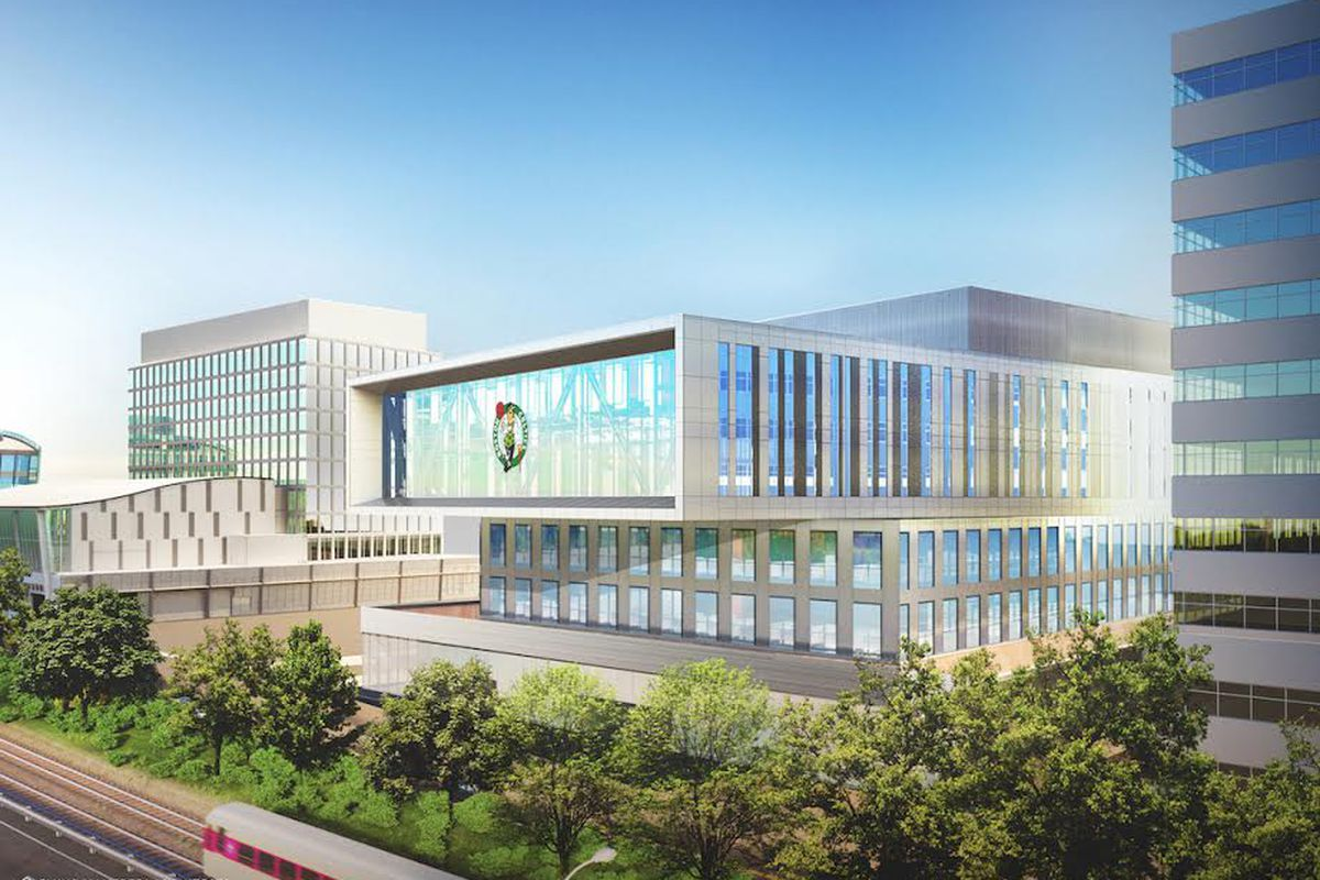 Boston Celtics proposed practice facility