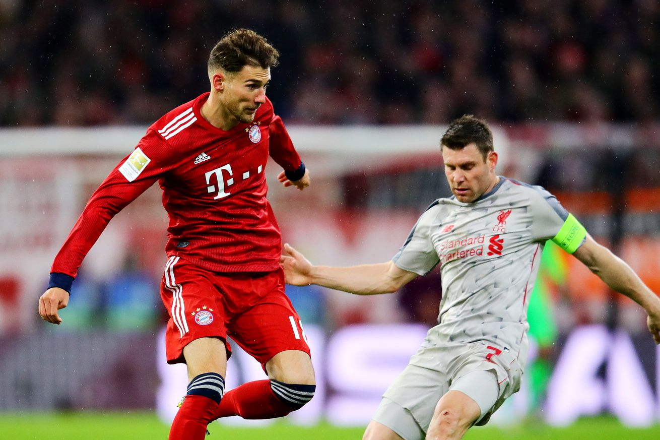 UEFA investigating Bayern Munich and Leon Goretzka for wearing a Bundesliga jersey in loss to Liverpool