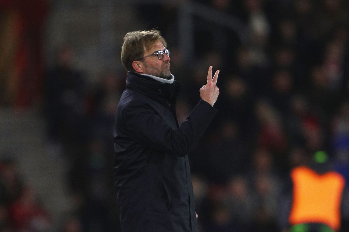 Southampton v Liverpool - EFL Cup Semi-Final: First Leg