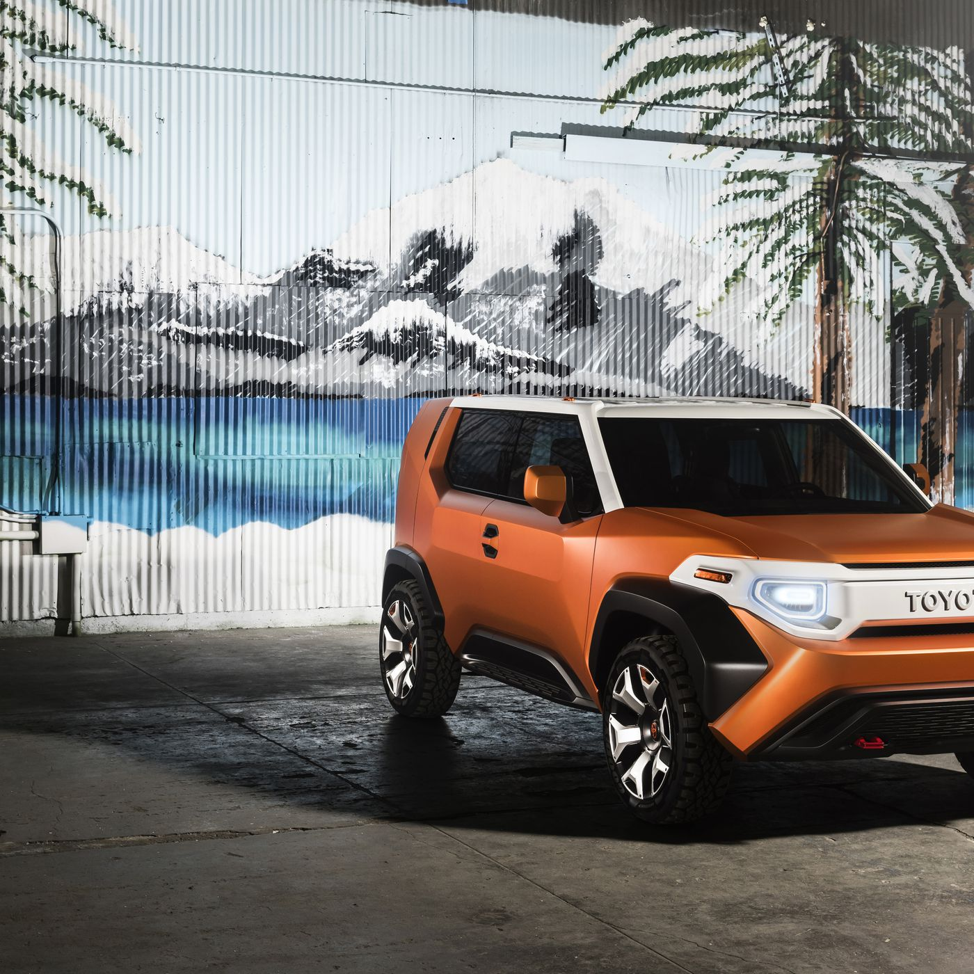 Toyota Ft 4X >> The Toyota Ft 4x Is A Big Orange Gearbox On Wheels The Verge