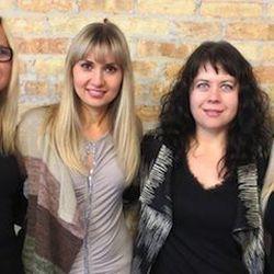 Meet the ladies of TOLA, from left to right: Teresa Kuriata, Olena Petyurenko, Laurie Roberts, and Agnes Kula. Photos: Courtesy of TOLA