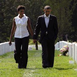 Visting Section 60 at Arlington National Cemetery on September 10, 2011