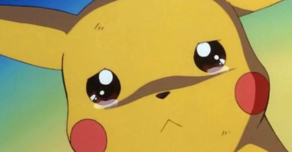 photo image Pikachu is talking now and it's very upsetting