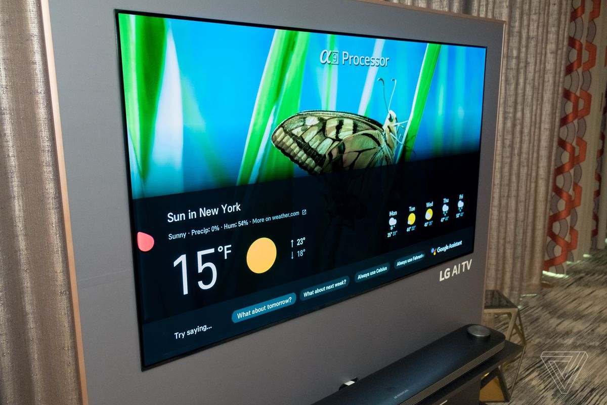 LG's 2018 OLED TVs will support both Google Assistant and (in some countries) Amazon Alexa.