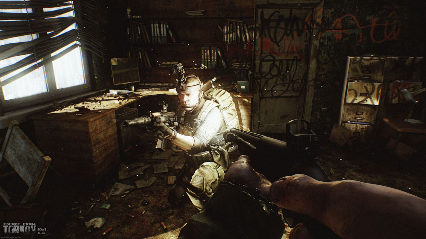Escape From Tarkov is incredibly laggy, and its developers are