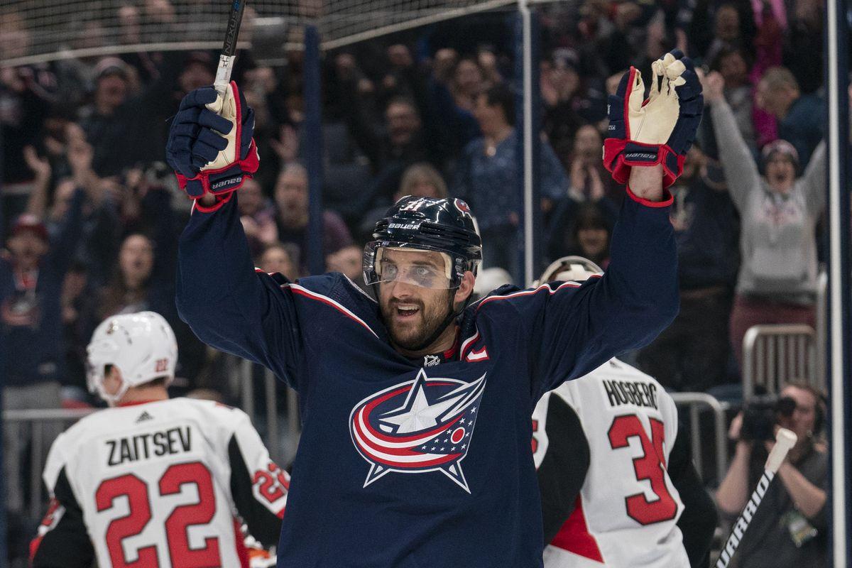 NHL: FEB 24 Senators at Blue Jackets