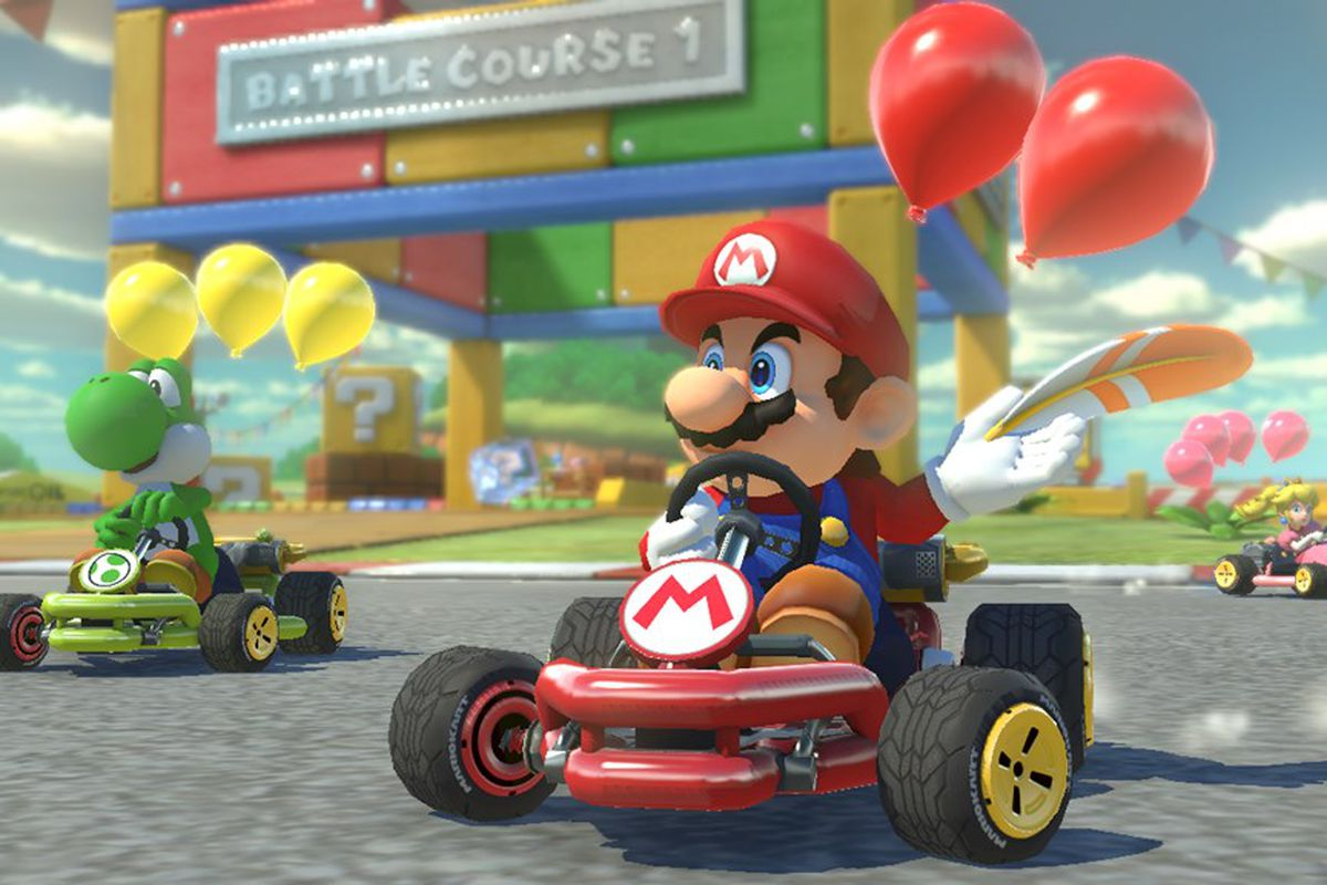 the 7 best things about mario kart 8 deluxe the verge. Black Bedroom Furniture Sets. Home Design Ideas