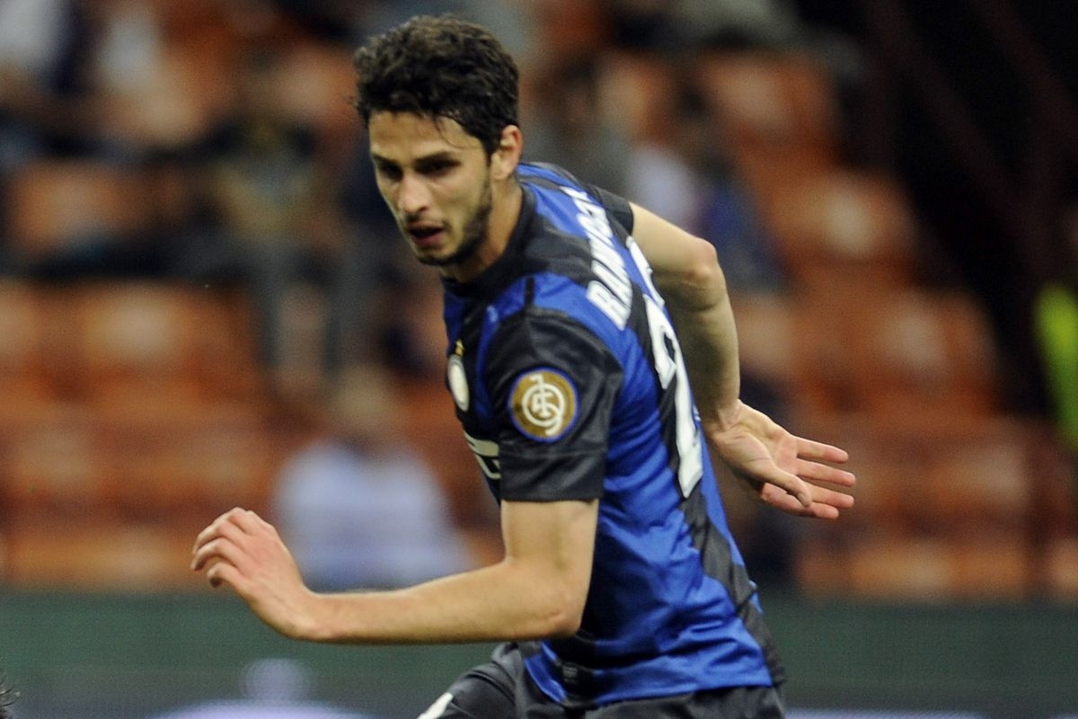 This is the least-dorky picture of Ranocchia I could find. The man does not photograph well.