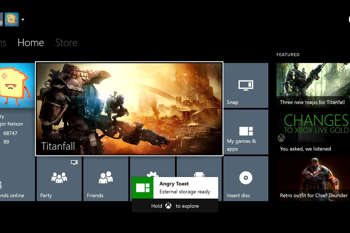 Xbox One gets external storage, real name support with June