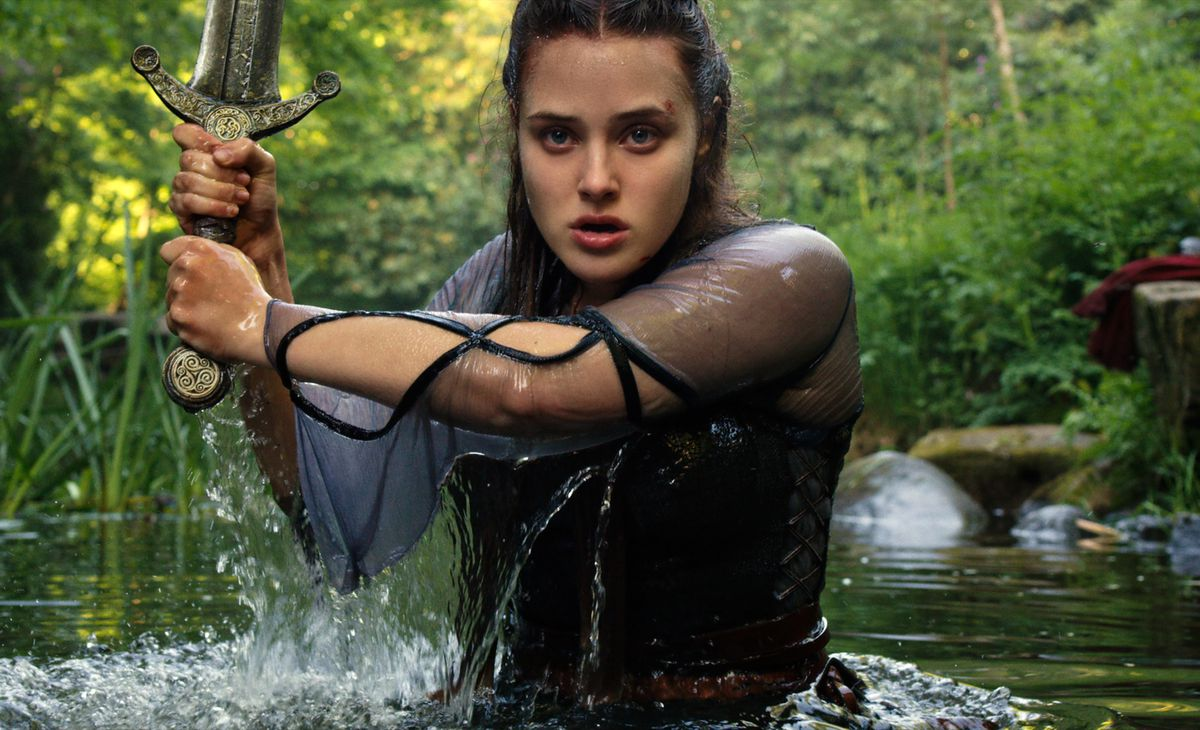 KATHERINE LANGFORD as NIMUE in episode 104 of CURSED Cr. Netflix © 2020