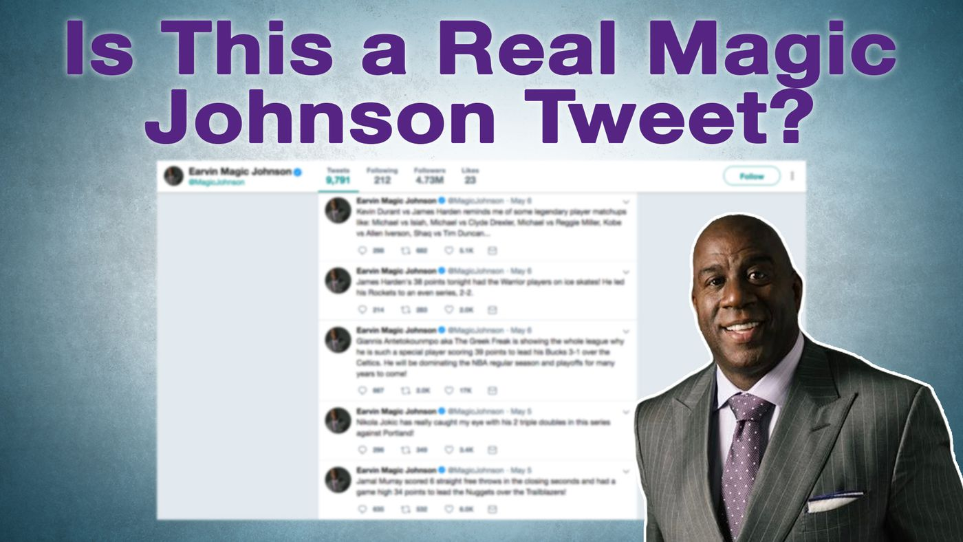 Is This a Real Magic Johnson Tweet?
