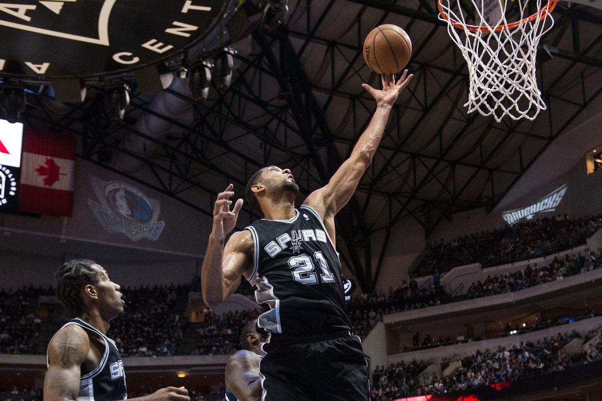 A lot of Tim at the rim down the stretch is what put the game away.