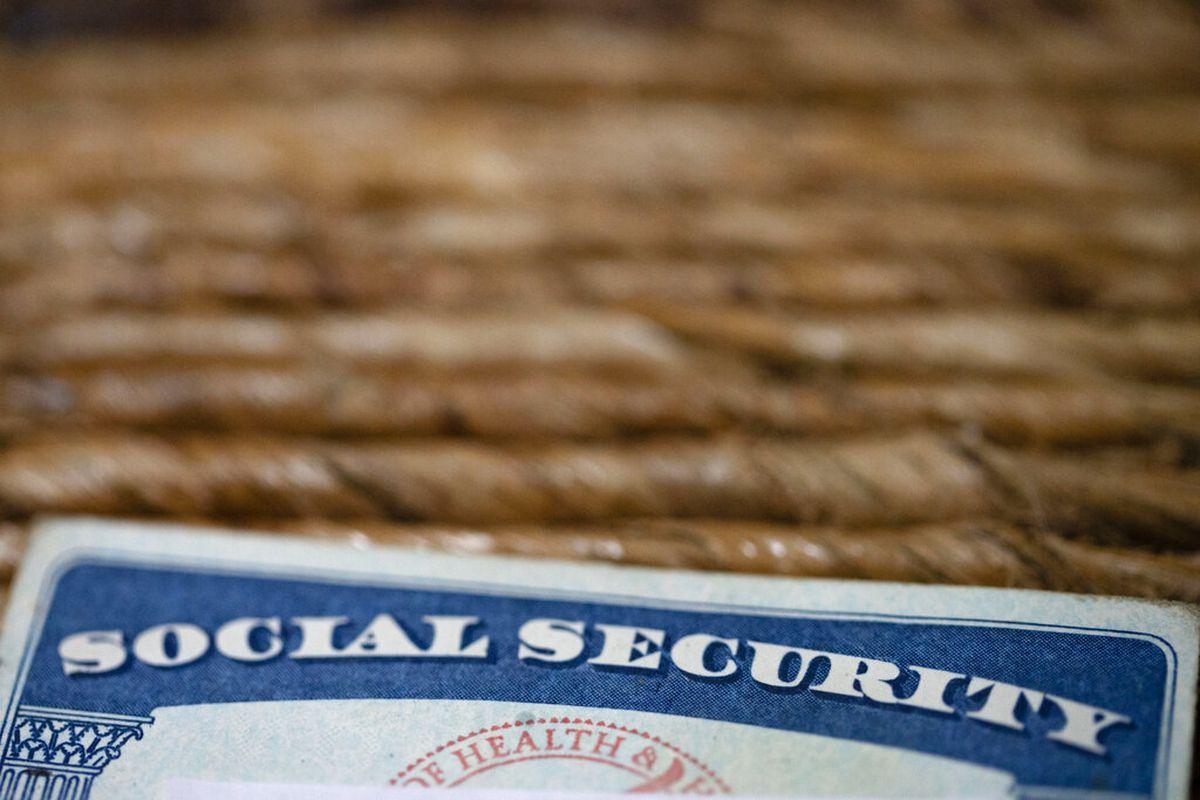 Photo of a Social Security card.