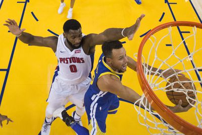 NBA: Detroit Pistons at Golden State Warriors