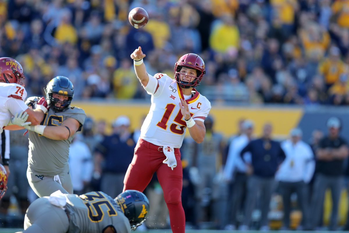 COLLEGE FOOTBALL: OCT 12 Iowa State at West Virginia