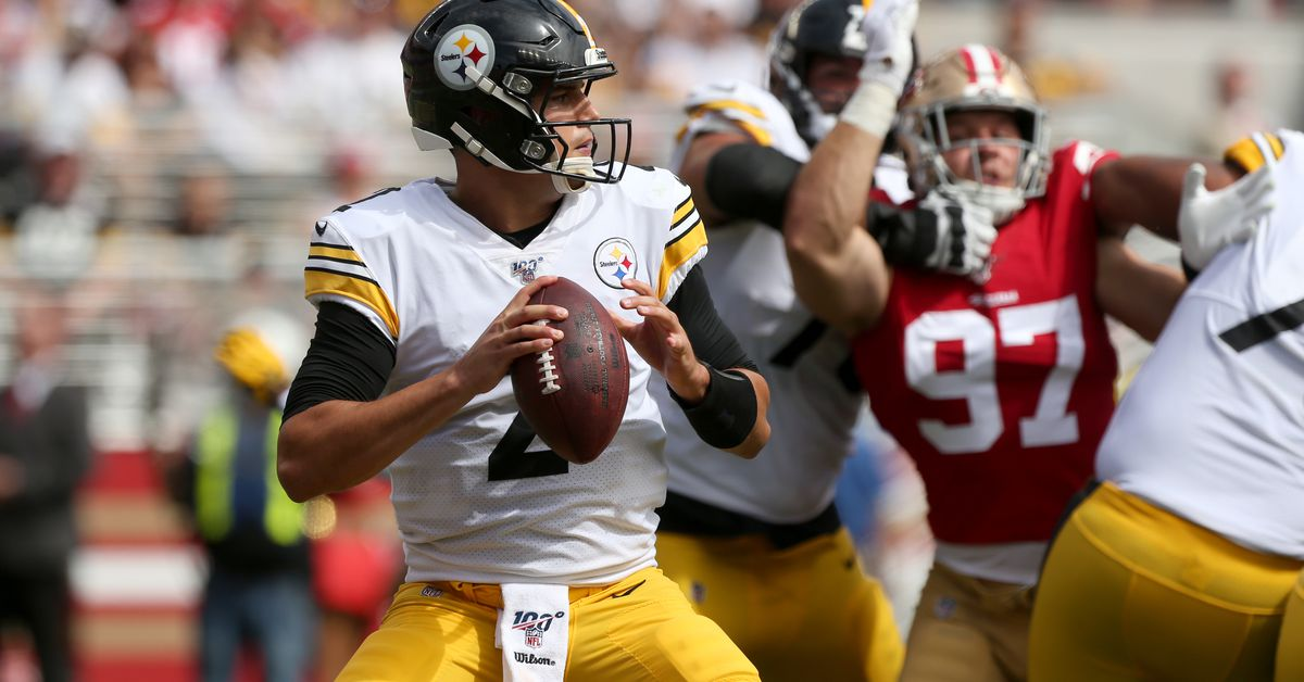 After losing the first start of his career, Steelers still have faith in Mason Rudolph