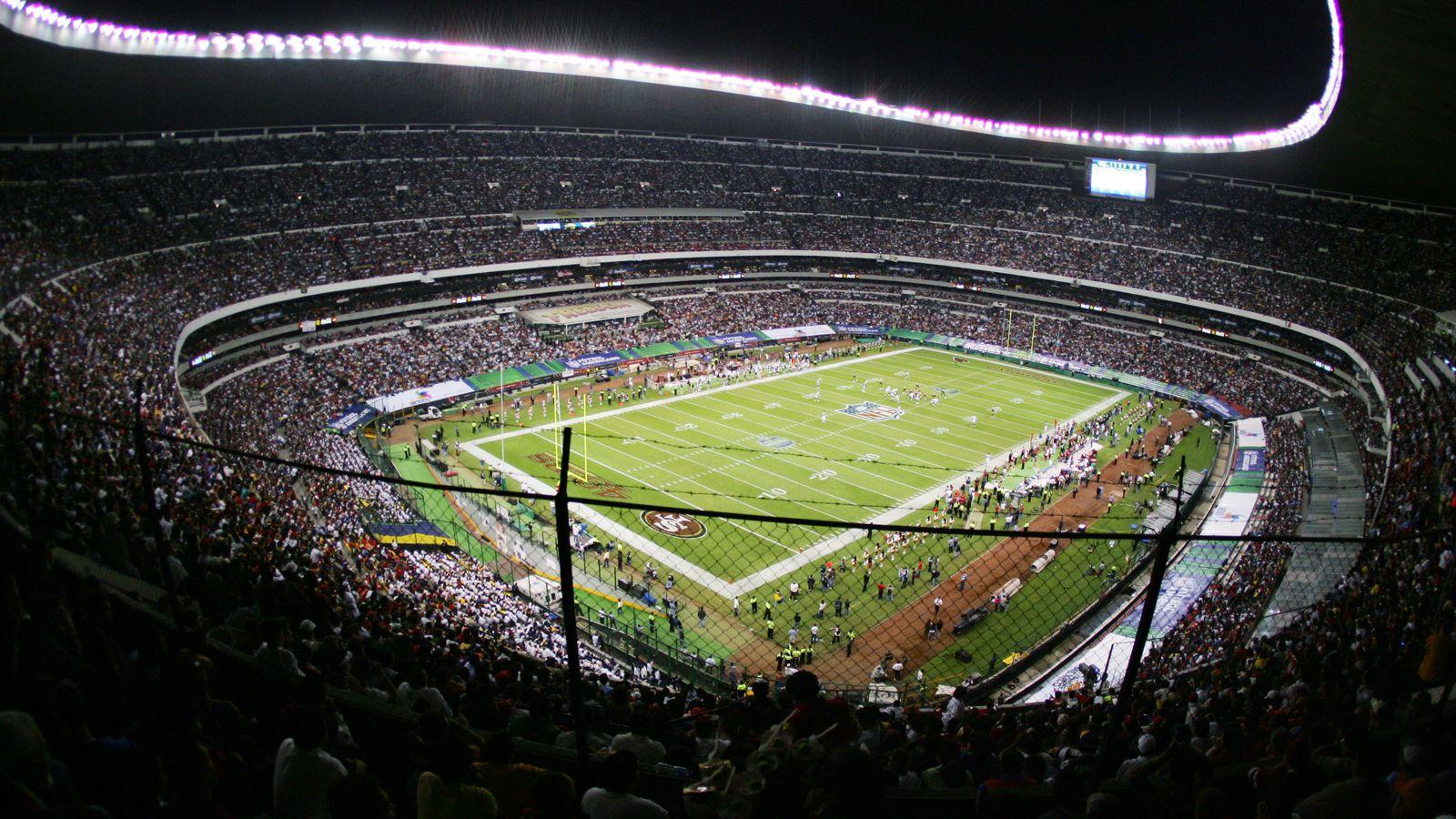 德州人队与突袭者队争夺墨西哥城的海拔