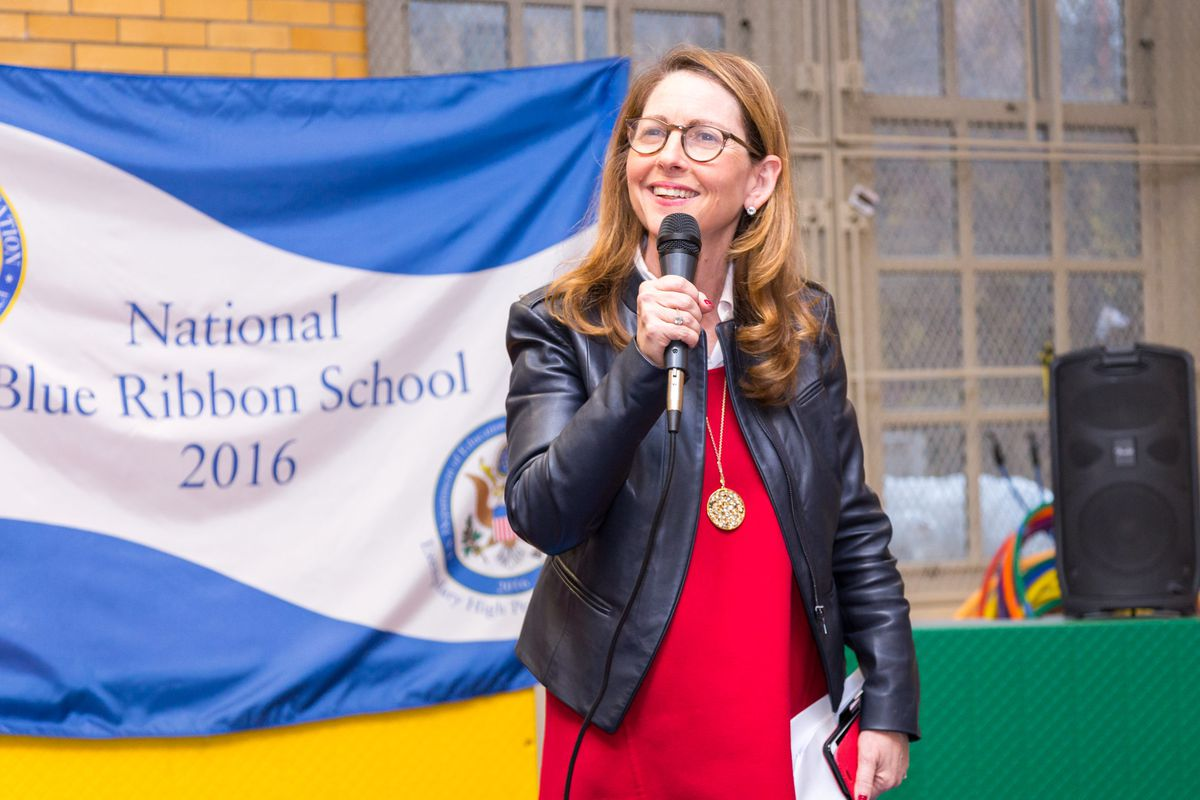 Eva Moskowitz, the Success Academy founder and CEO.