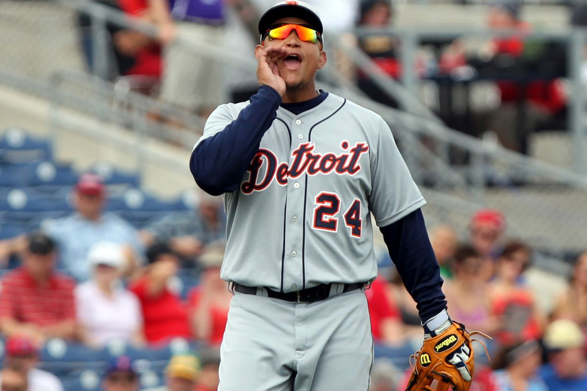 """""""Hey why am I not ranked first?"""" yells Miguel Cabrera"""
