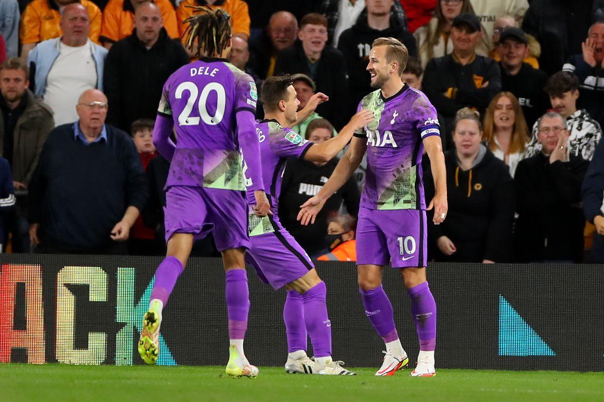Wolverhampton Wanderers v Tottenham Hotspur - Carabao Cup Third Round