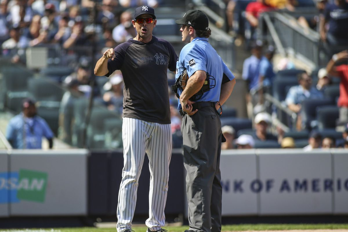 Yankees manager Aaron Boone changed the narrative