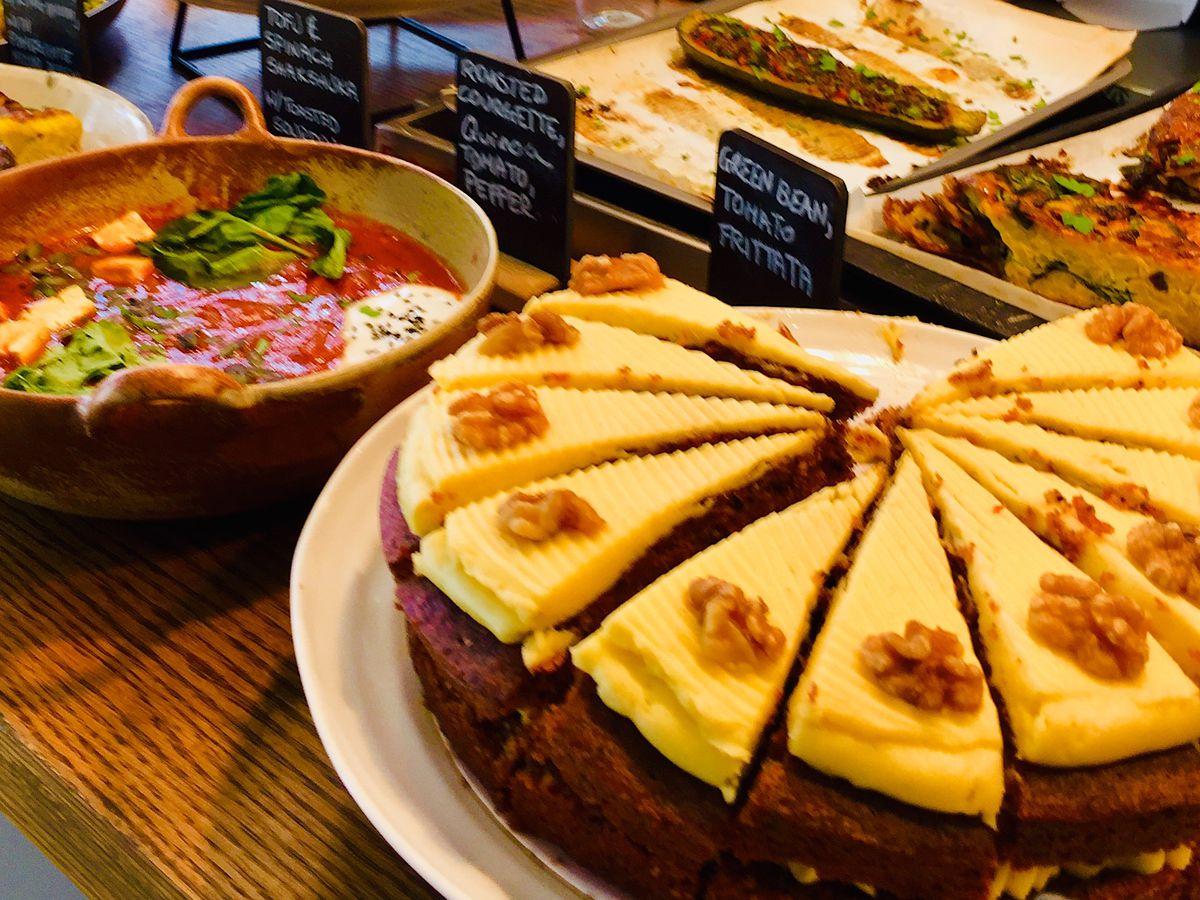 London's best vegetarian restaurants include Kin in Fitzrovia