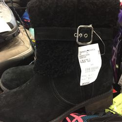Uggs boot, women's size 6.5, $100 (from $200)