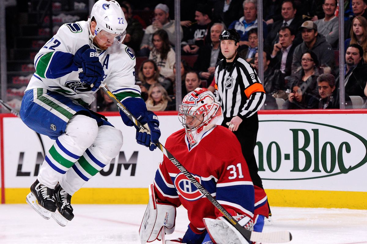 Vancouver Canucks v Montreal Canadiens
