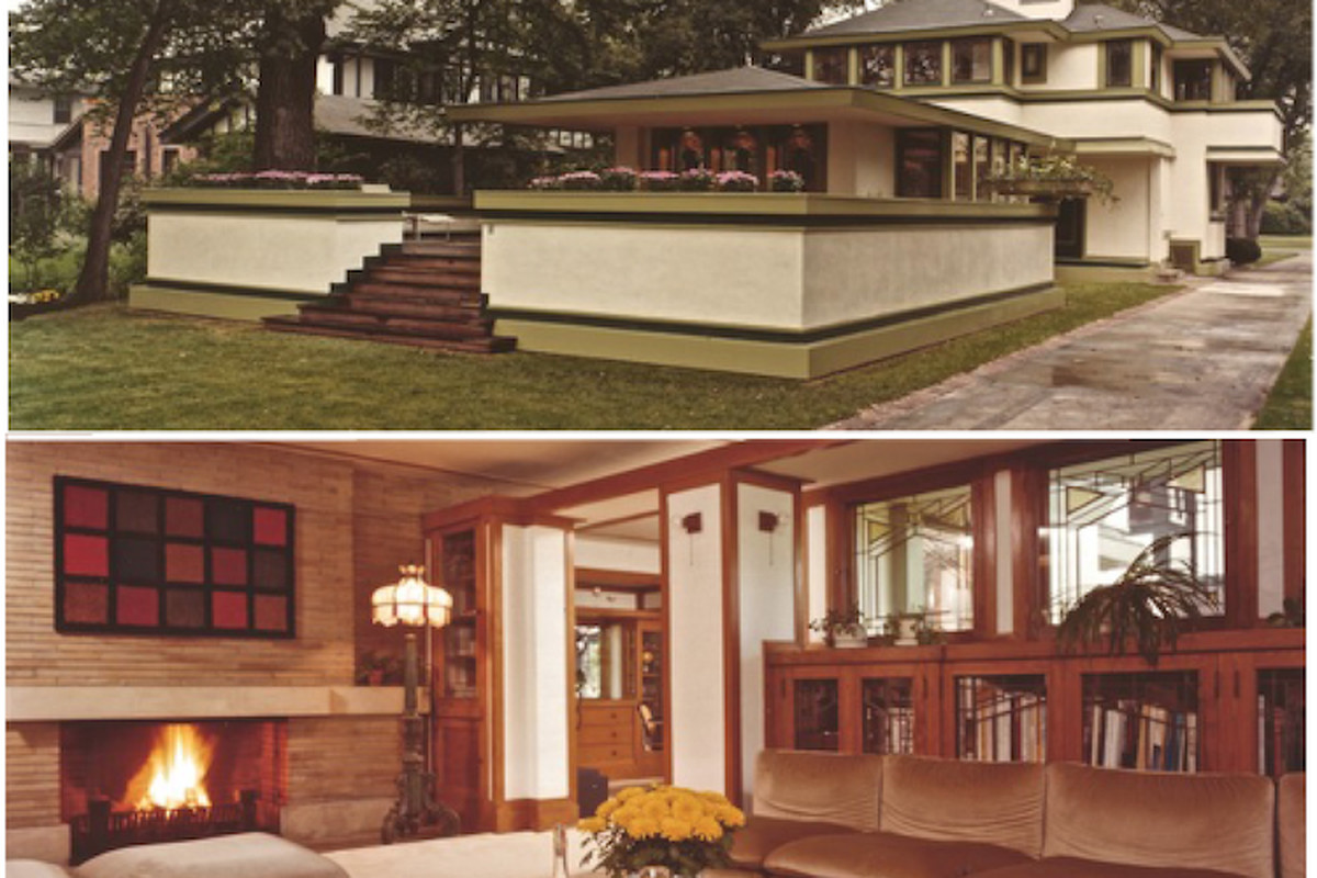 Frank Lloyd Wright Chicago Map.Two Frank Lloyd Wright Homes List Mapping Mies Van Der Rohe More