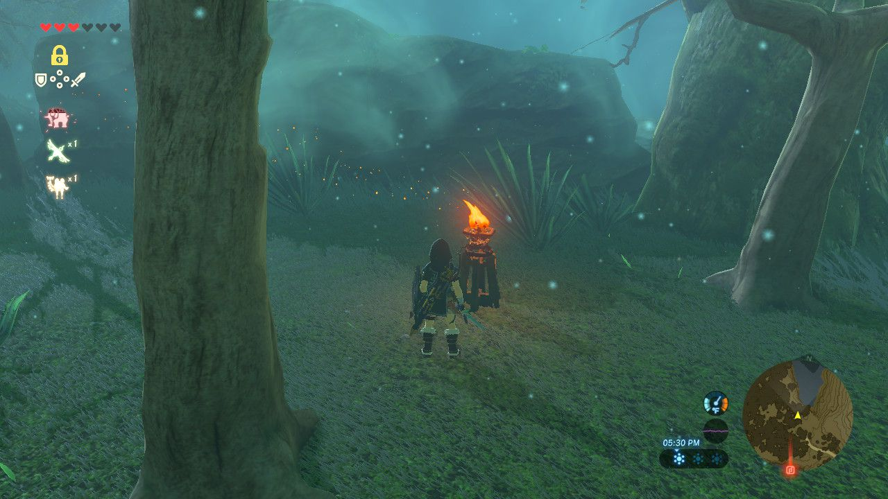 How To Get Through The Lost Woods In Breath Of The Wild Polygon