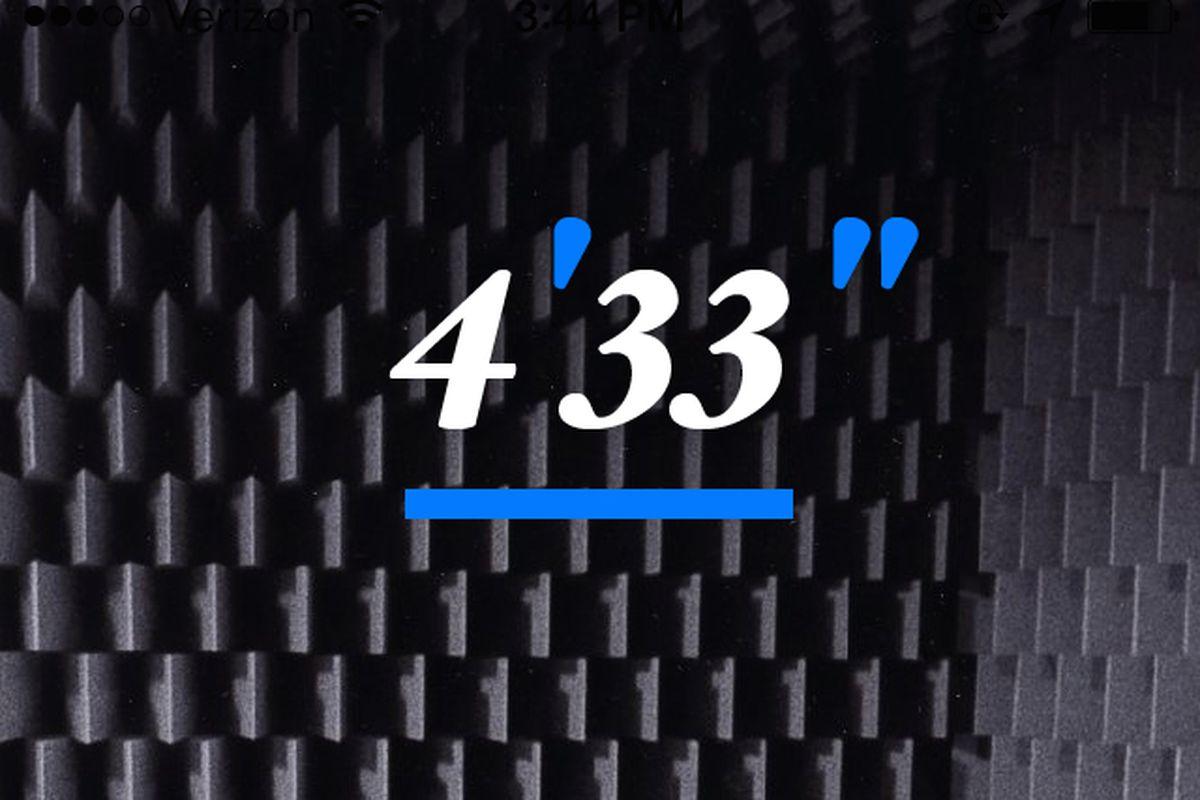 john cage 433 app