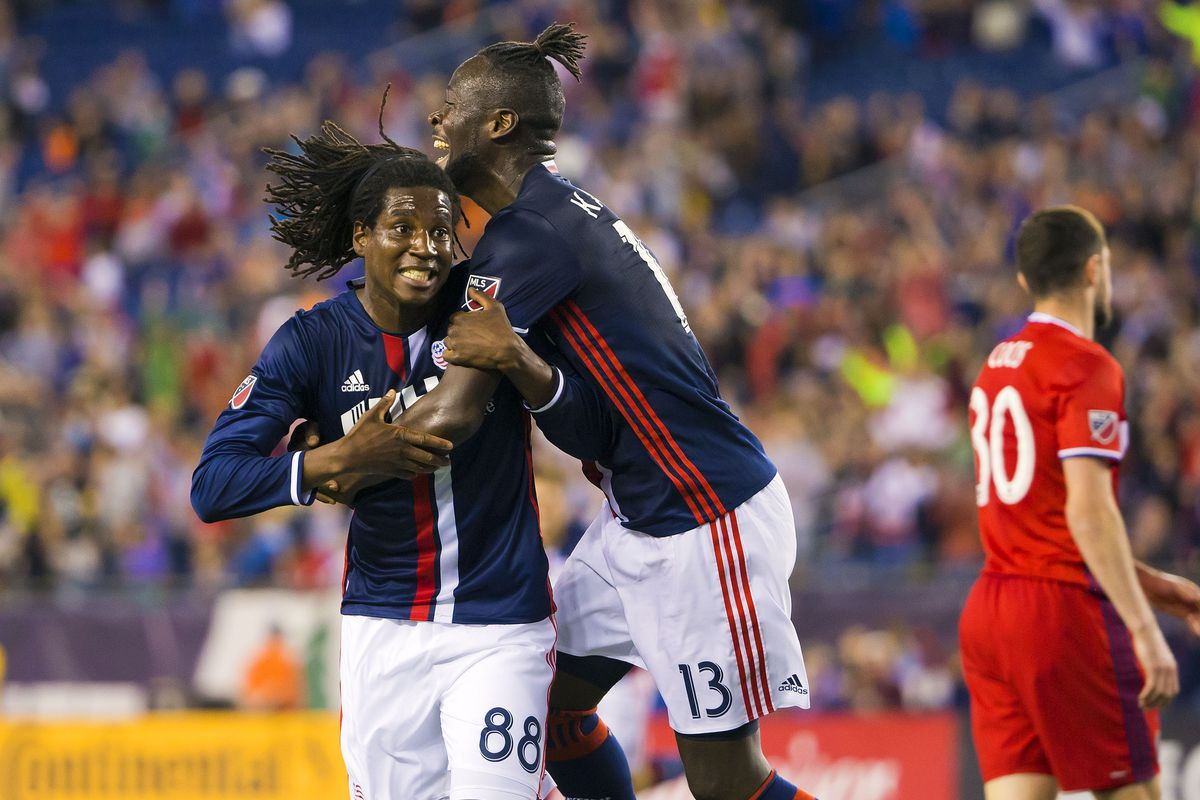 MLS: Chicago Fire at New England Revolution