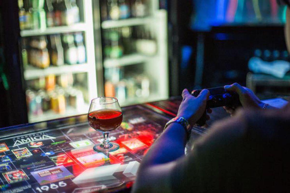 Player 1 Video Game Bar