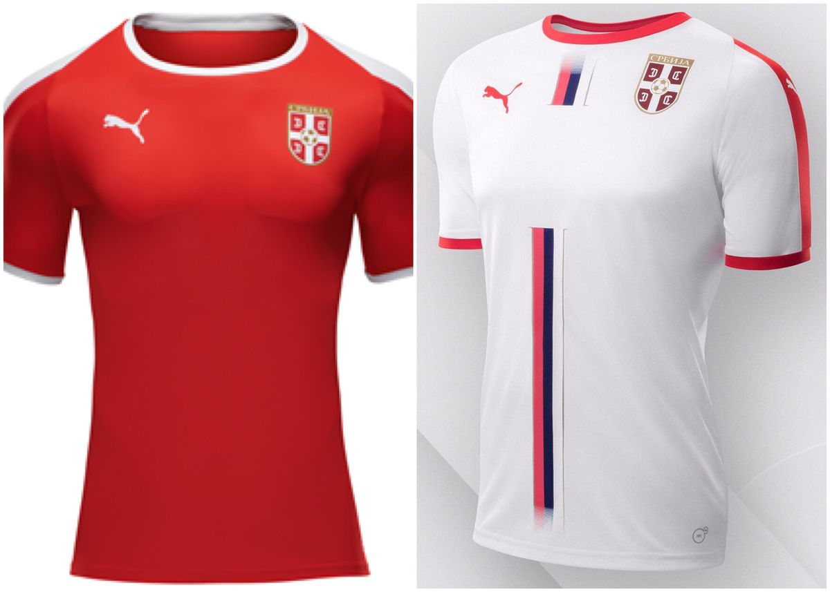 The away jersey is better than the home jersey for Serbia. But all in all 11290b2ce