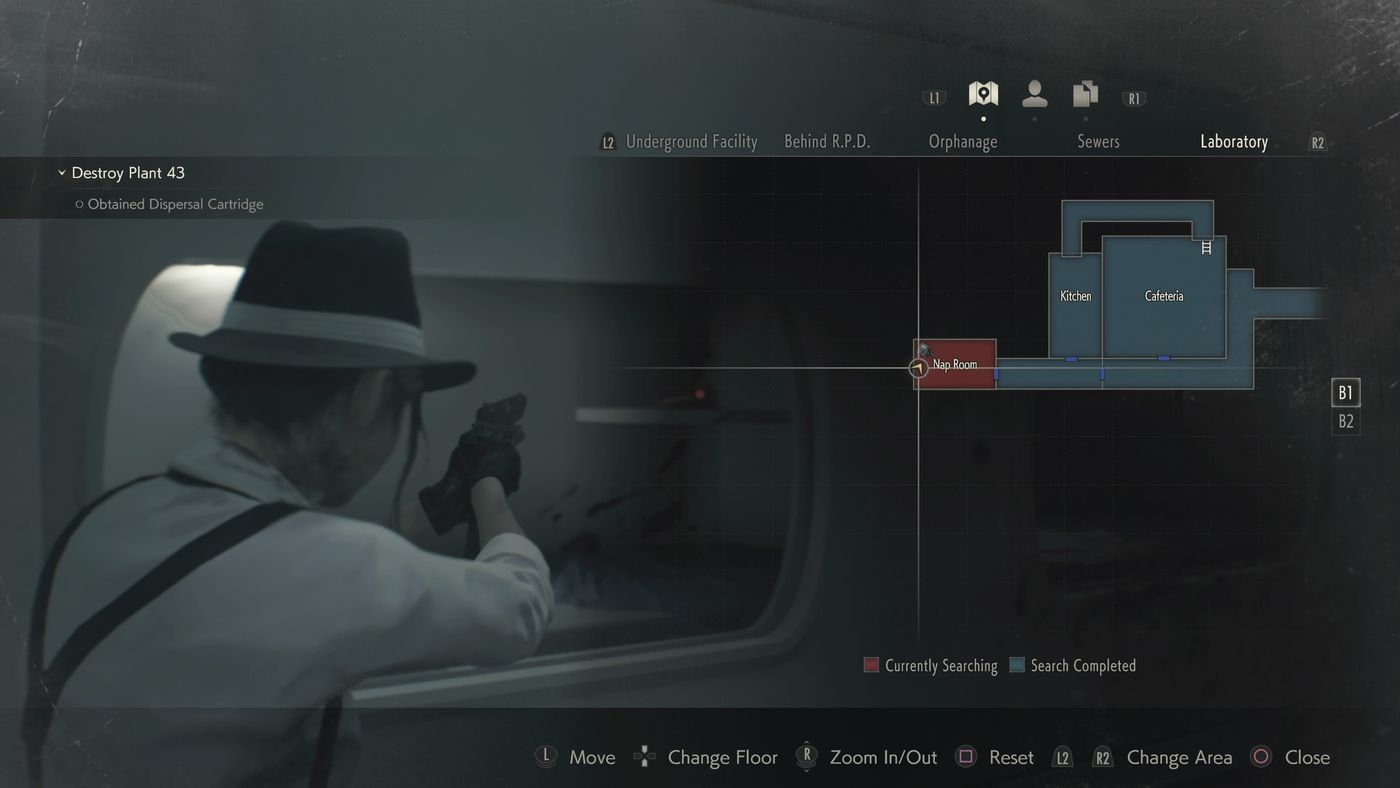Resident Evil 2 Leon walkthrough: Investigate the lab and East Area