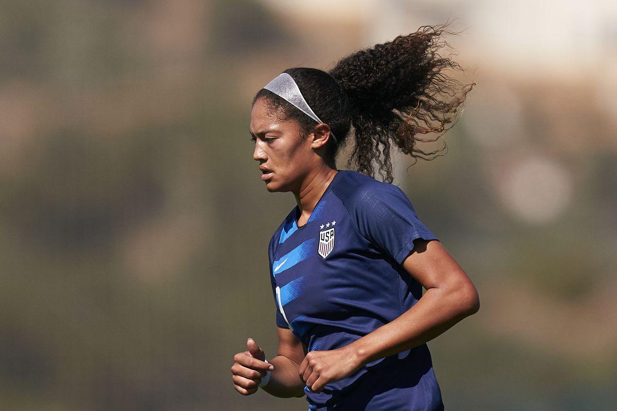 The United States of America U19 Women v England U19 Women - International Friendly Match