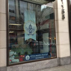 """Find official Obama swag at the F Street <a href=""""https://store.2013pic.org/"""">57th Presidential Inauguration Store</a> pop-up downtown."""
