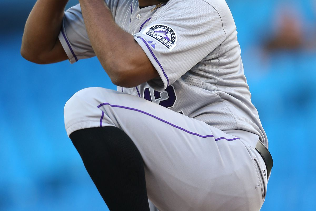 Juan Nicasio takes the mound for the Rockies tonight against the Red Sox.