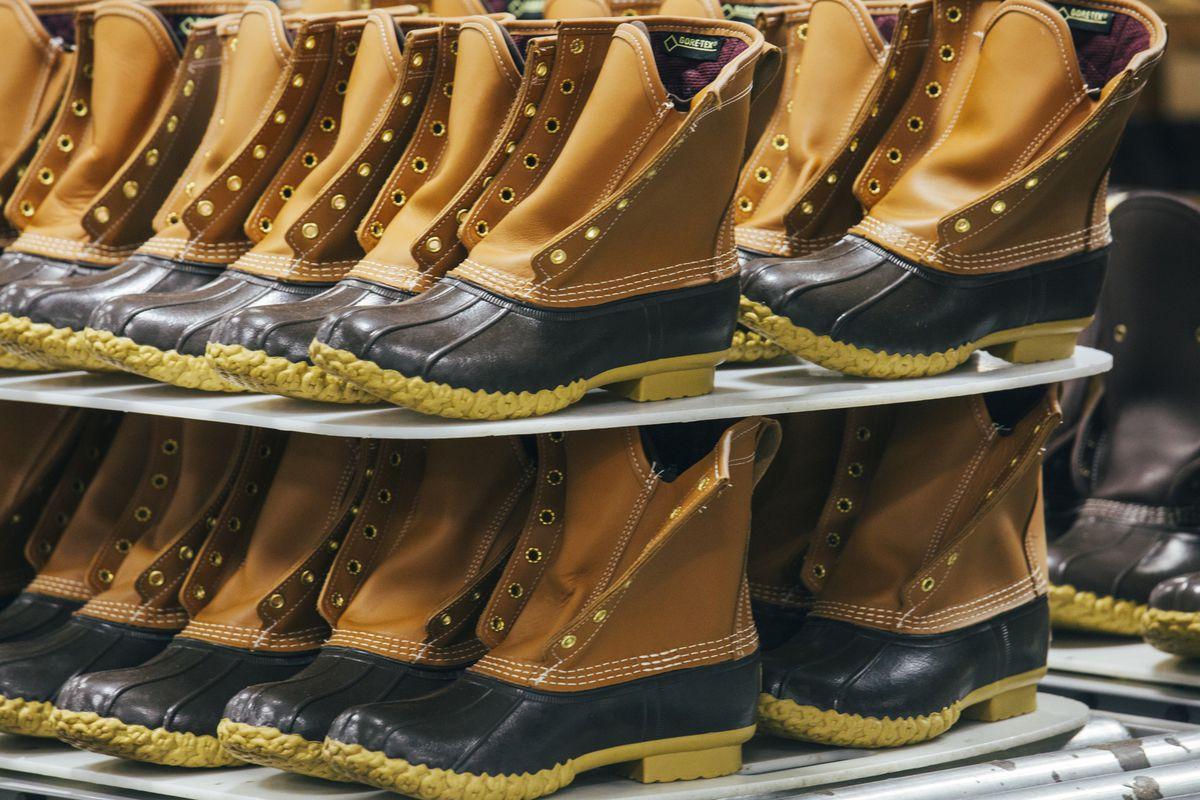 L.L. Bean boot...