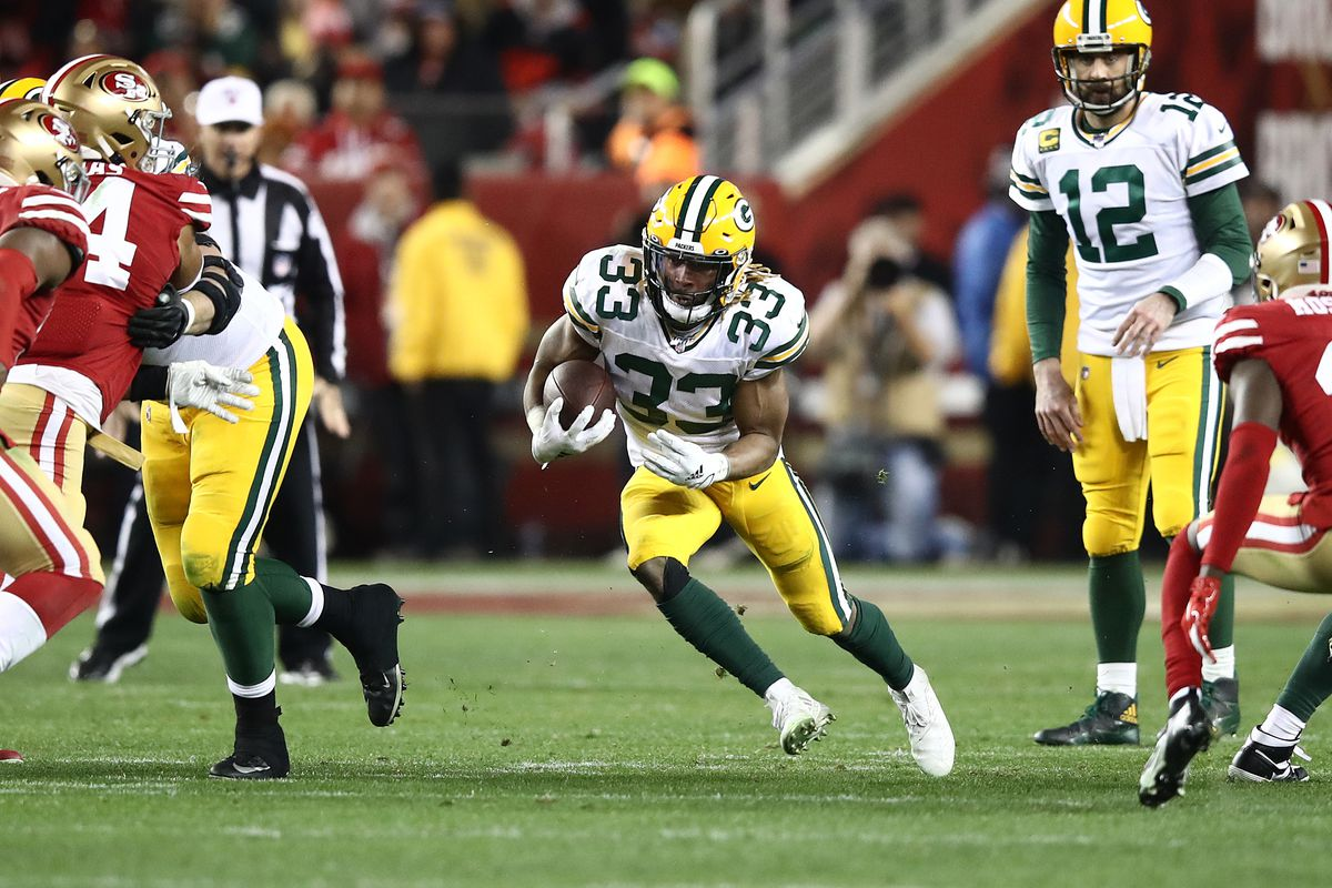 Assessing Aaron Jones Fantasy Football Value For 2020 Acme Packing Company