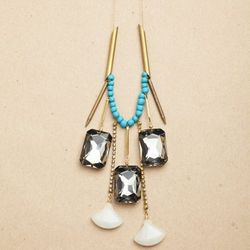"""Necklace by <a href=""""http://www.afshaanrahman.com/gallery"""">Afshaan Rahman</a>, $120"""