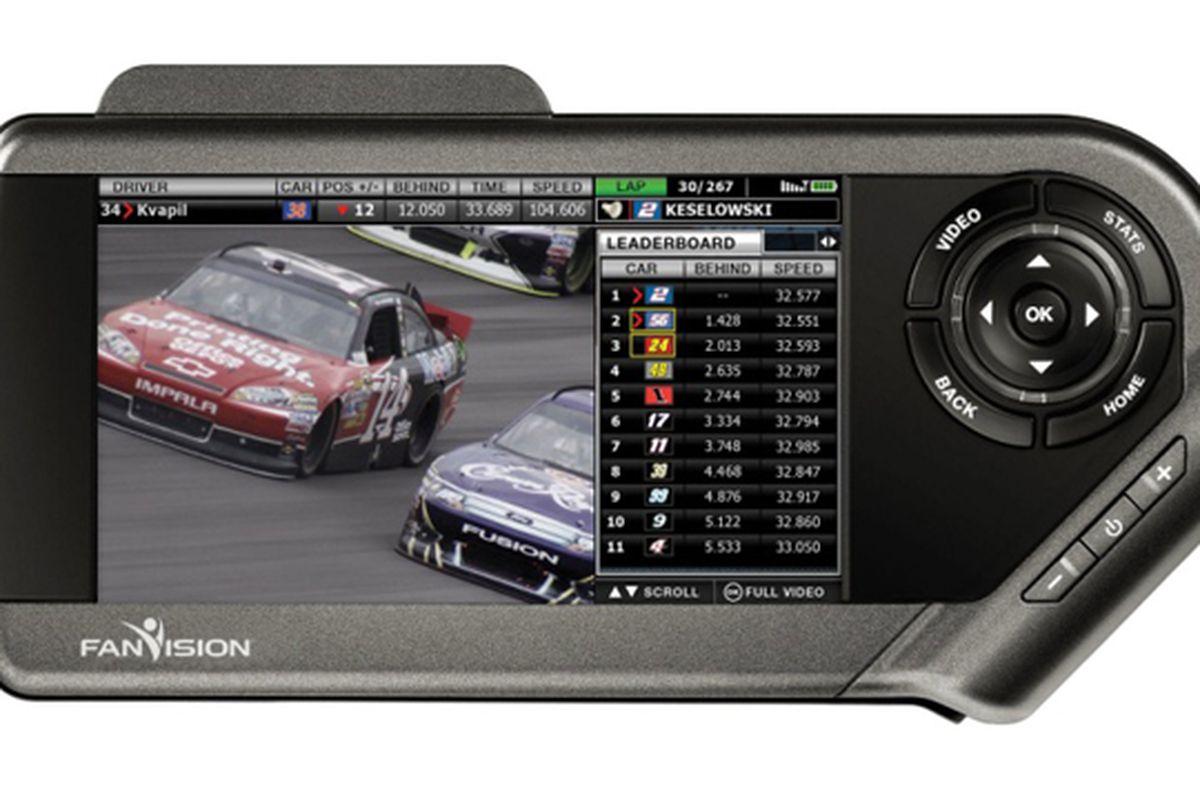 NASCAR FanVision Press Still 640