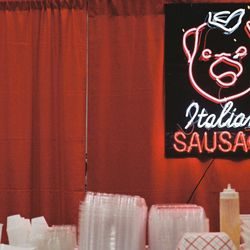 All facets of the show's world were brought to life at SopranosCon, including Satriale's, the meat market where Tony and his crew hung out