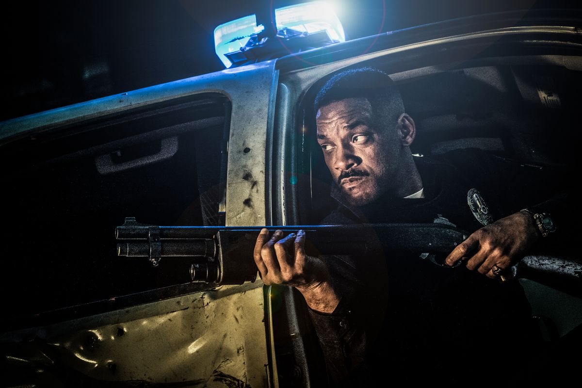 The trailer for Will Smith's new Netflix movie, Bright