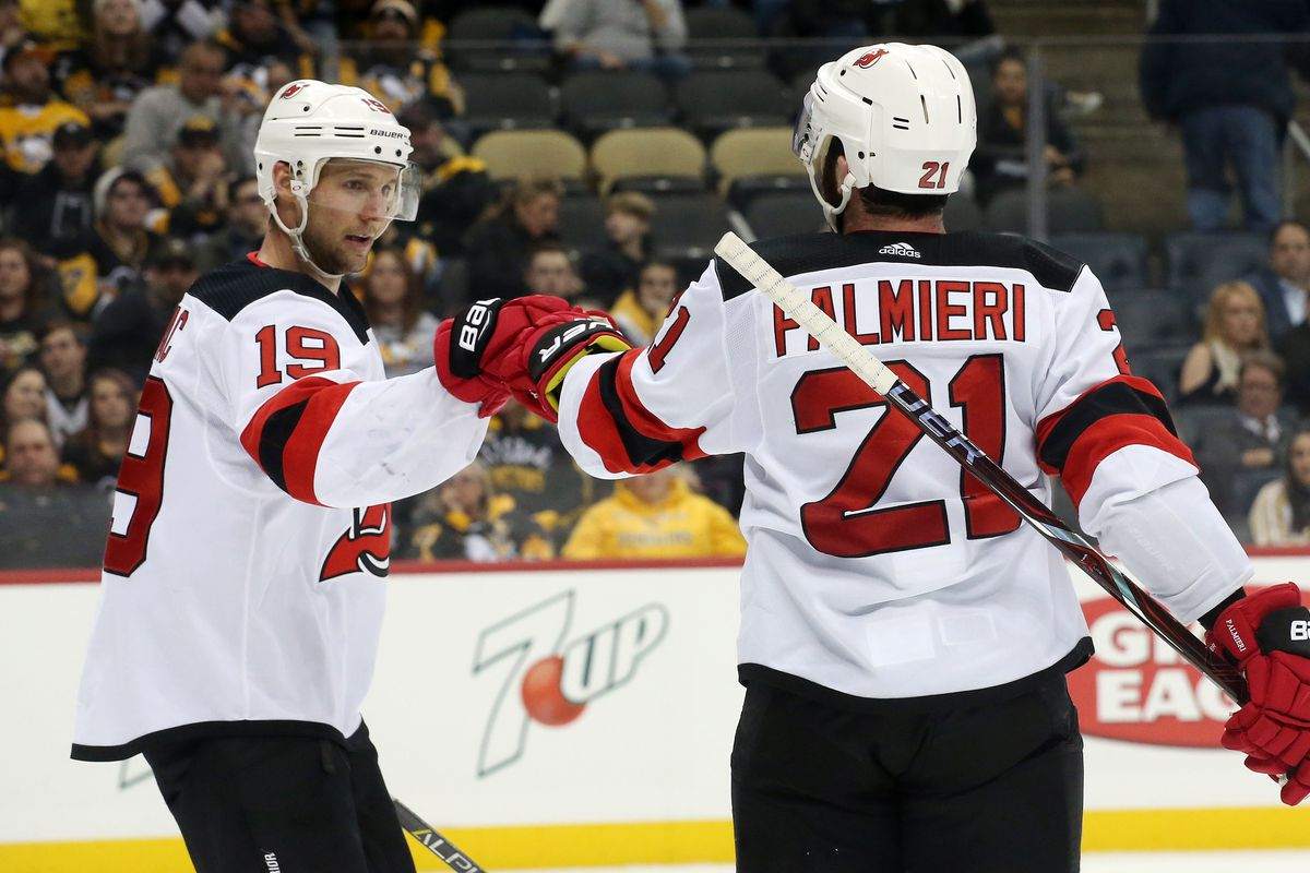 NHL: New Jersey Devils at Pittsburgh Penguins