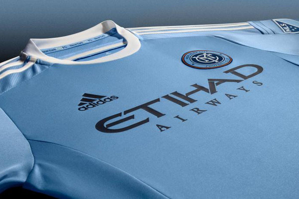 the latest 87042 0c645 New York City FC's 2015 home kit is more of the same from ...