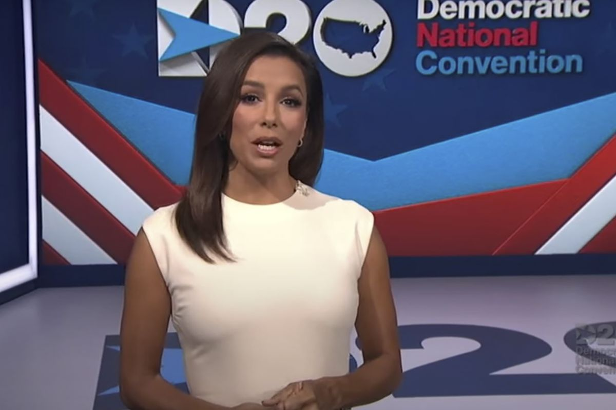 Yes, the first night of the Democratic National Convention was hosted by Desperate Housewife Eva Longoria Baston. But the whole thing somehow still worked.