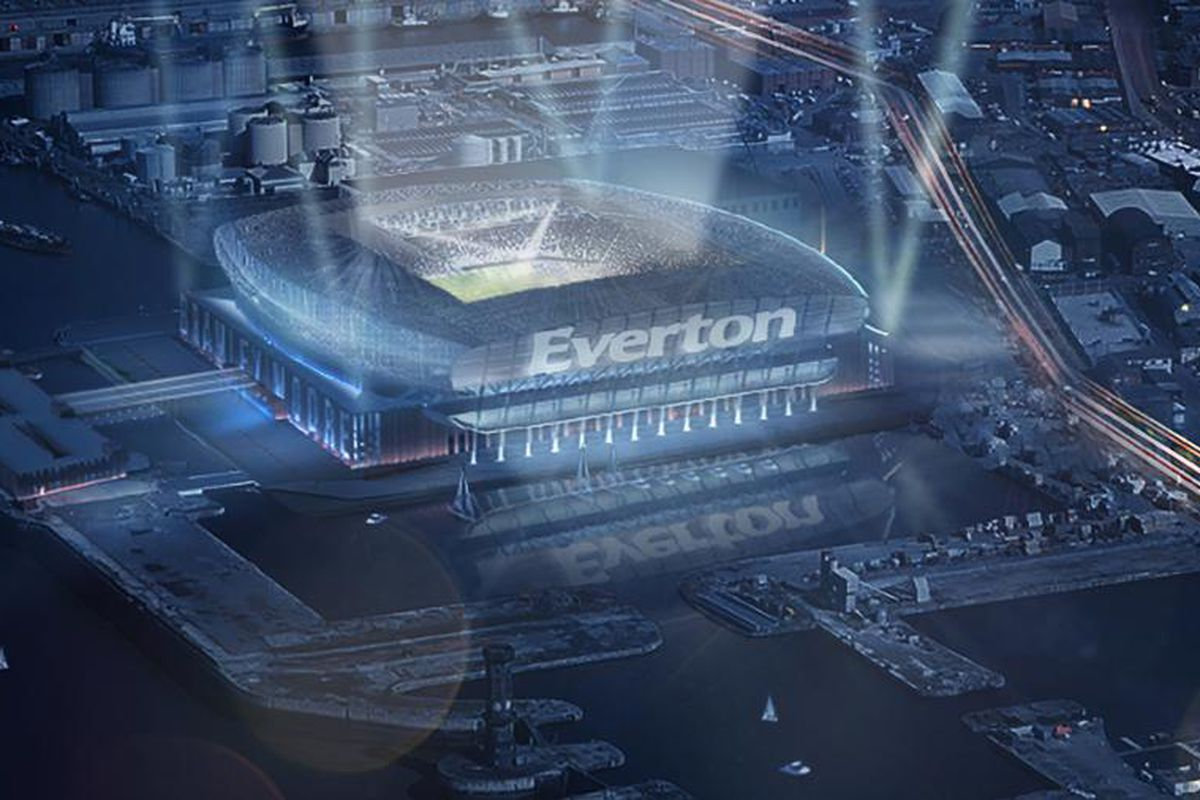 REVEALED: Everton's new stadium will be a beautiful ...