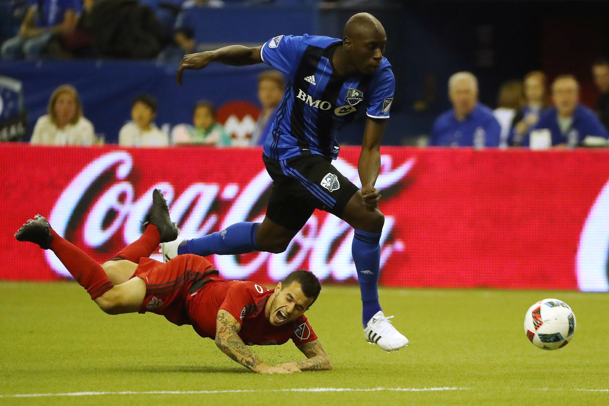 Toronto FC plays the Montreal Impact in the MLS Conference Finals in the MLS Cup Playoffs