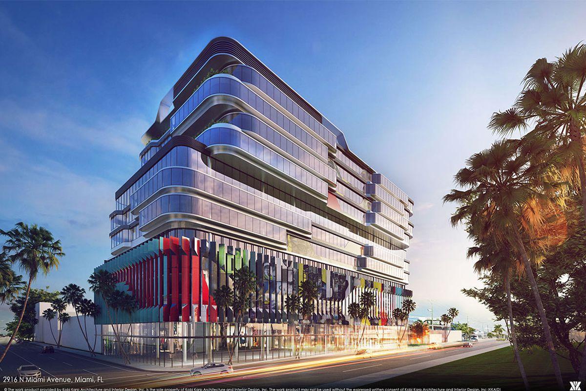 Gateway At Wynwood Proposed Near Midtown Miami Curbed Miami